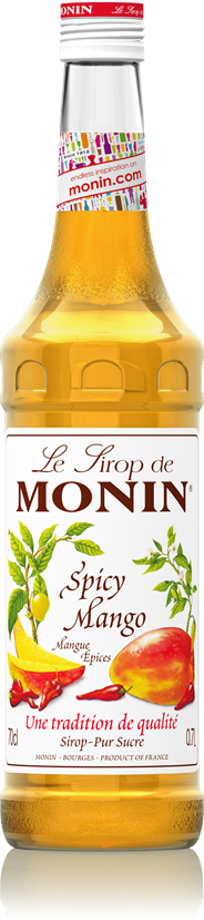 Monin Spicy mango 70 cl