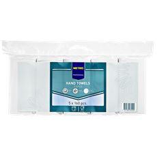 Metro Professional Handdoek 2-laags v-vouw 24x23 cm 5 x 160 stuks