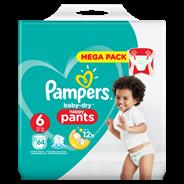 Pampers Baby-Dry Pants S6, 64 luierbroekjes