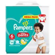 Pampers Baby-Dry Pants S6, 64 Luierbroekjes, Luchtdoorlatende Banen