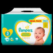 Pampers Premium Protection maat 3, 6-10kg, 98 luiers