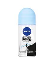 Nivea Invisible Black & White Pure anti-transpirant roller 50 ml