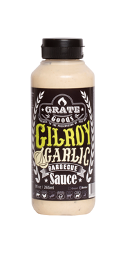 Grate Goods Gilroy Garlic barbecuesaus 265 ml
