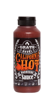 Grate Goods California Hot barbecuesaus 265 ml