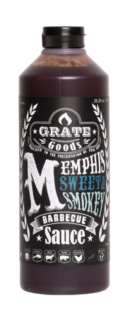 Grate Goods Memphis Sweet & Smokey barbecuesaus 775 ml