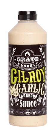 Grate Goods Gilroy Garlic barbecuesaus 775 ml