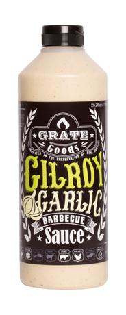 Grate Goods Gilroy Garlic barbecuesaus 775 ml