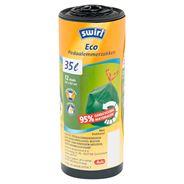 Swirl Ecologische pedaalemmerzakken 35 liter 12 stuks