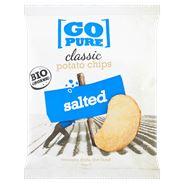 Go Pure Chips Classic Salt 15 x 40 gram
