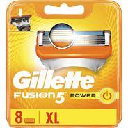 Gillette Fusion5 Power Scheermesjes, 8 Navulmesjes