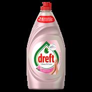 Dreft Clean & Care Afwasmiddel Rose & Satin 780 ml