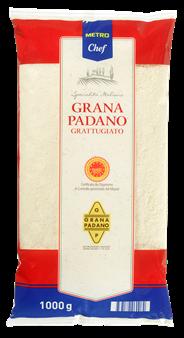 Metro Chef Grana Padano geraspt 1 kg