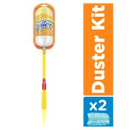 Swiffer Duster XXL Trap & Lock-kit (1 Handvat + 2 Duster Navullingen)