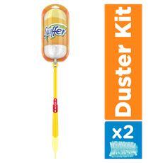 Swiffer Duster XXL Trap & Lock-kit (1 Handvat + 2 Duster Navullingen)