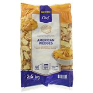 Metro Chef American Wedges 2,5 kg