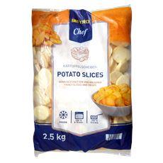 Metro Chef Aardappelschijfjes diepvries 2,5 kg