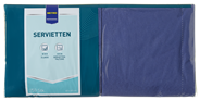 Metro Professional Servetten 40 cm 3-laags blauw 250 stuks