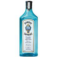 Bombay Sapphire Gin 6 x 1 liter