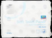 Aro Toiletpapier 4-laags 24 rollen