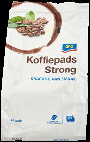 Aro Koffiepads strong 48 stuks