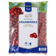 Metro Chef Cranberries 1 kg