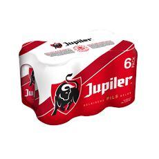 Jupiler Blond Bier Blikken 6 x 33 cl