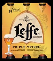 Leffe Tripel fles 4 x 6 x 300 ml