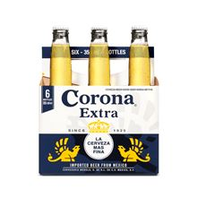 Corona Extra Mexicaans Pils Bier Flessen 6 x 355 ml