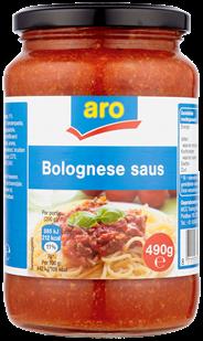 Aro Bolognese saus 490 gram CM