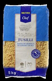 Metro Chef Fusilli 5 kg