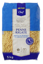 Metro Chef Penne Rigate 5 kg