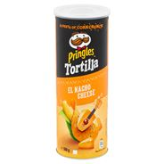 Pringles TORTILLA CHEESY NACHO CHEESE CNC 160g
