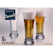 Durobor Pilsener Bierglas 34 cl 6 stuks