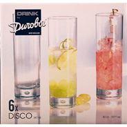 Durobor Disco Longdrinkglas 30 cl 6 stuks
