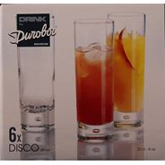 Durobor Disco Longdrinkglas 23 cl 6 stuks