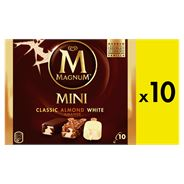 Magnum Mini IJs Classic Almond White 10 x 55 ml