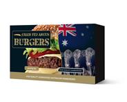 Grain Fed Angus burgers diepvries 10 x 113 gram