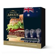 Grain Fed Angus burgers diepvries 12 x 200 gram