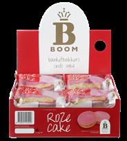 Boom - Roze cake - 65 gram/ per stuk