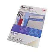 GBC PolyClearView Bindomslagen A4 300mic Mat (100)