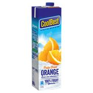 Coolbest gekoeld sap premium orange pulp free 1 lt pak