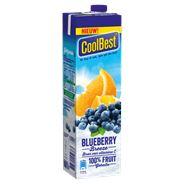 Coolbest  gekoeld sap blueberry breeze 1 lt pak
