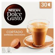 Nescafé Dolce Gusto Cortado Espresso Macchiato 30 x 6,3 g