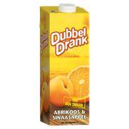 Dubbeldrank Abrikoos & sinaasappel 8 x 1 liter