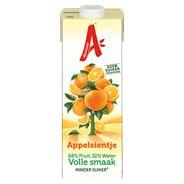 Appelsientje Sinaasappel volle smaak minder fruitsuiker 8 x 1 liter