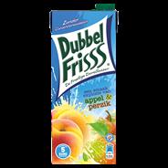 DubbelFrisss Appel & perzik 8 x 1,5 liter