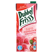 DubbelFrisss Framboos & cranberry 8 x 1,5 liter