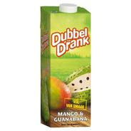 DubbelDrank Mango Guarabana 1 L