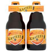 Kasteel 11° Tripel Belgisch Bier flessen 24 x 33 cl