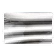 Yong placemat 30 x 45 cm stripes zwart